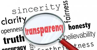 Importancia de la transparencia