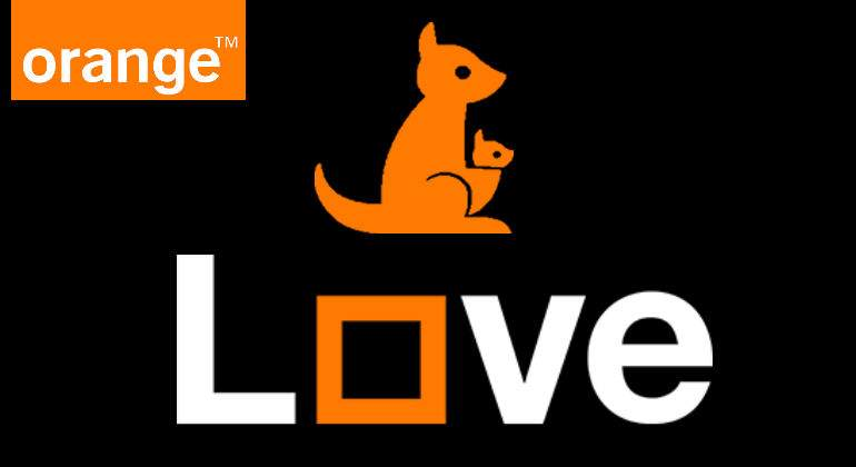 Orange transforma su Canguro en Love